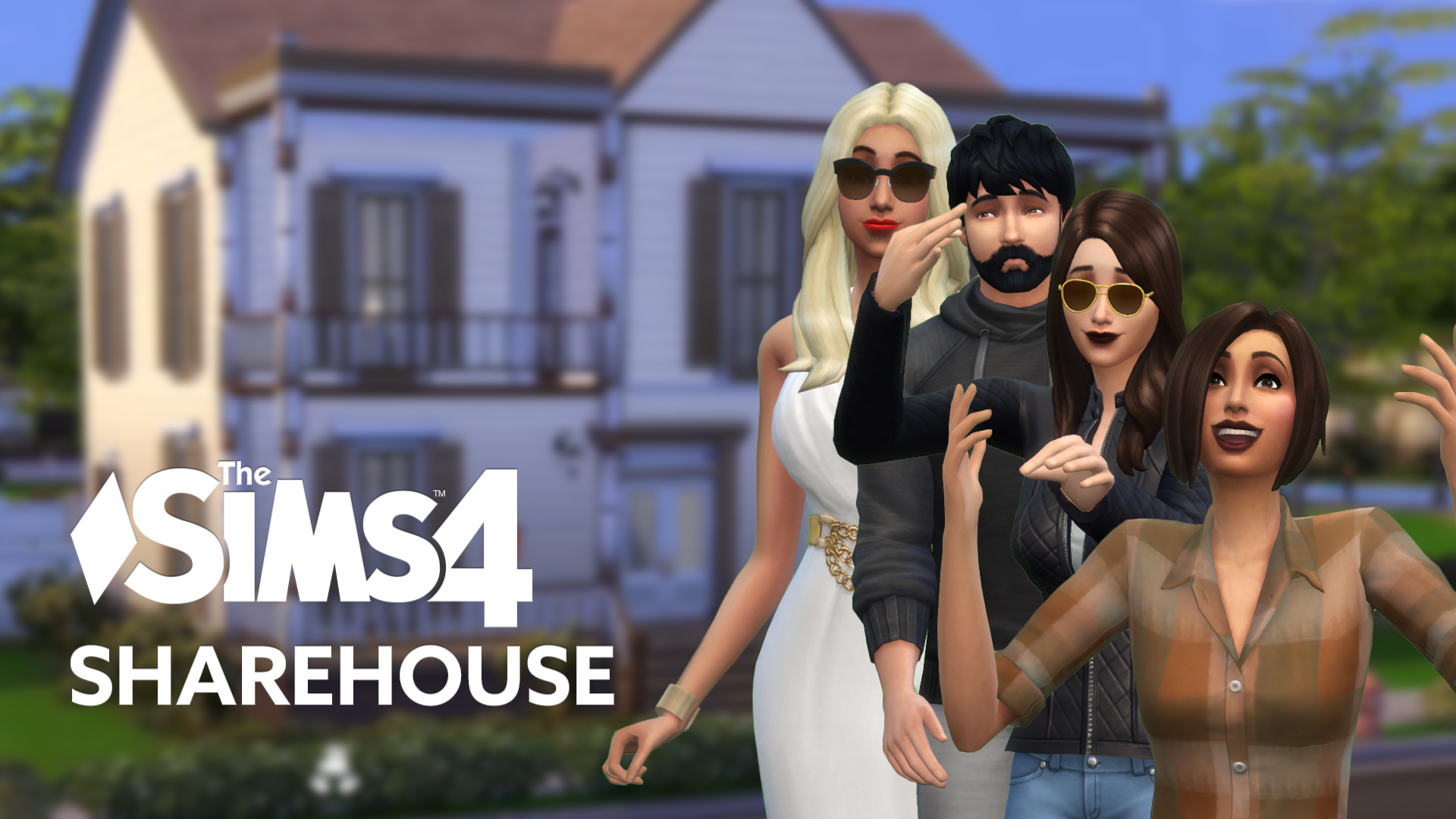 Welcome to the Share House (The Sims 4 Share House: Part 1)